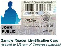 Reader Identificaiton Card