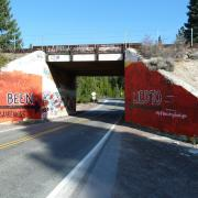 Bridge Painted for National Drug Facts Week