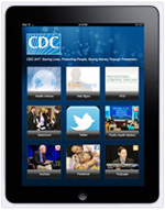 Photo: iPad application