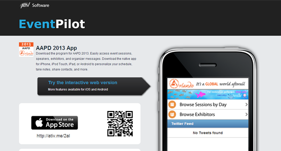 2013 AAPD Annual Session App Now Available