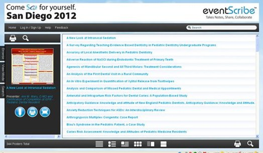 View the ePoster Gallery from the 65th Annual Session in San Diego