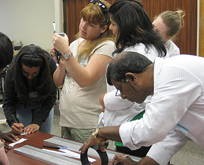 teachers at NIST's summer institute
