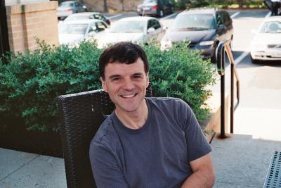 A picture of Ruben Baler, neuroscientist.