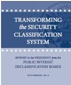 Transforming the Security Classification System cover image