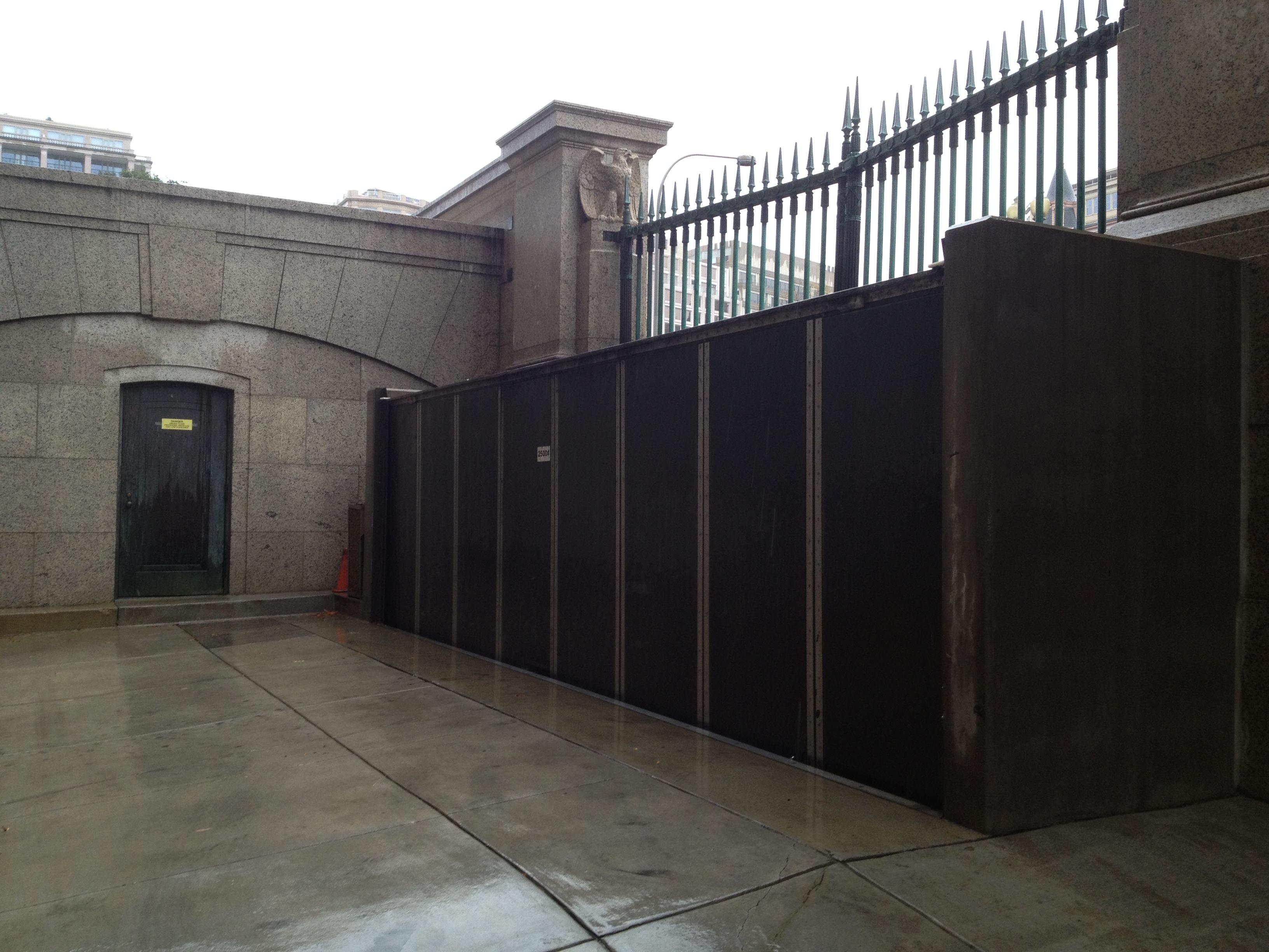 East Flood Wall