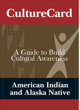 American Indian and Alaska Native Culture Card
