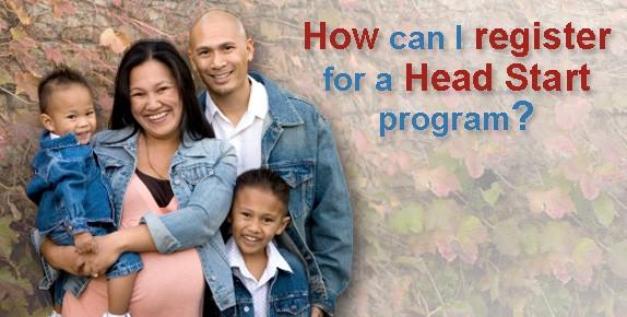 Banner How to register for Head Start Program
