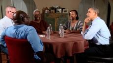 President Obama Talks #My2k with The Santana Family