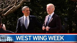 "West Wing Week: 03/08/13 or ""Jedi Mind-Meld"""