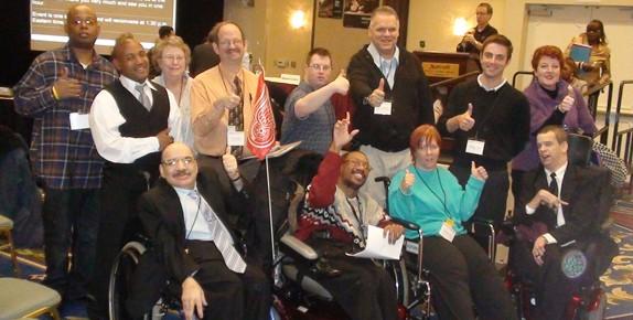 Self Advocates at Envision Conference, Colorado