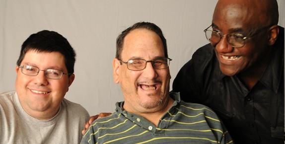 Three Men Smiling - SABE 2011