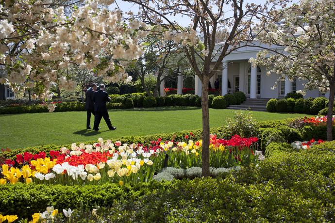 President Obama Rose Garden