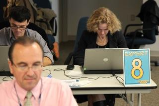 NIDA Director, Dr. Nora Volkow, participates in CHAT DAY '09; Image Courtesy of Chris Phillips, ICF Macro