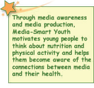 Through media production, Media-Smart Youth motivates young people