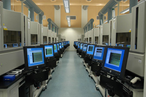 Computers serve as virtual laboratories.