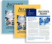 Alcohol Alerts and Alcohol Research & Health Publications