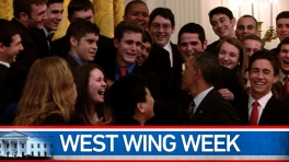 "West Wing Week: 03/15/13 or ""Stay With It!"""