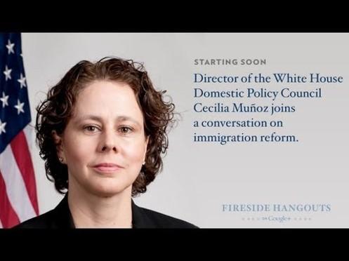 Join Cecilia Muñoz, Director of theWhite House Domestic Policy Council, for a conversationon immigration...