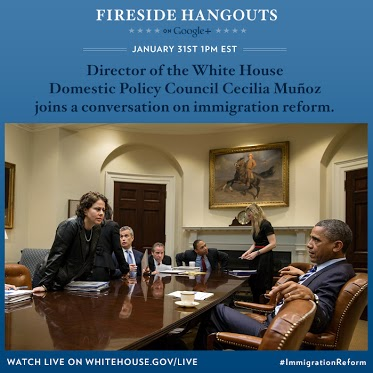 On January 31 at 1:00 p.m. ET: Cecilia Munñoz, Director of the White House Domestic Policy Council joins...
