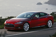 Tesla Model S Sedan.