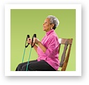 picture of Arm Curl with Resistance Band