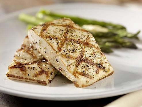 plato de pescado a la plancha