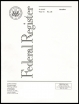 Federal Register cover