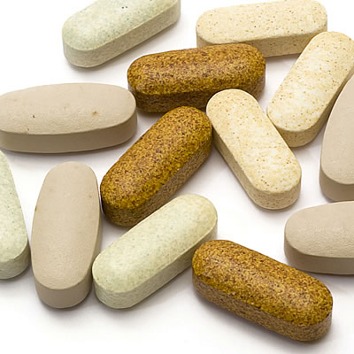 assorted multivitamin tablets