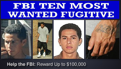 Ten Most Wanted: Edwin Ernesto Rivera Gracias