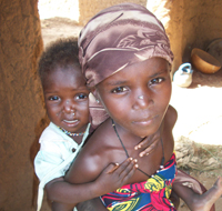 Nigerian children at-risk of infection with NTDs. Credit: CDC photo, Sonia Pelletreau