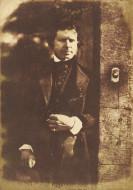 image: David Octavius Hill and Robert Adamson. David Octavius Hill at the gate of Rock House, Edinburgh, 1843-47