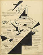 IMAGE: Marius de Zayas and Agnes Ernst Meyer, <em>Mental Reactions</em>, 1915
