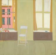 Image: Alex Katz Folding Chair, 1959 Gift of The Alex Katz Foundation 2009.104.1
