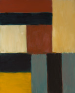 Image: Sean Scully (artist) American, born Ireland, 1945 ONEONEZERONINE RED, 2009 oil on linen overall: 228.6 x 182.88 cm (90 x 72 in.) Gift of Alan and Ellen Meckler 2009.125.1