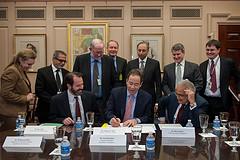 Deputy Secretary Nides Signs a Memorandum of Understanding