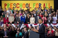 """President Obama: High Quality Pre-K Is """"Good Bang for your Educational Buck"""""""