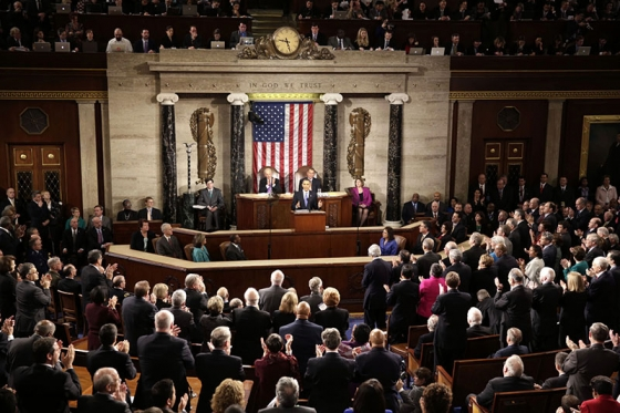 President Barack Obama delivers the State of the Union address (February 12, 2013)