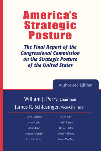 The cover of the Strategic Posture Commission Report.