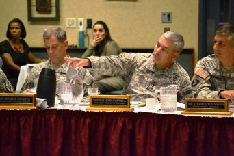Army Vice chief talks Ready and Resiliency at Fort