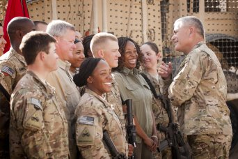 Army under secretary and vice chief: Support for d