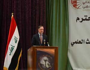Ambassador Beecroft Gives Remarks (Embassy Image)