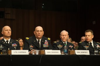 Joint Chiefs & Judge Advocates Testify on Sexual A