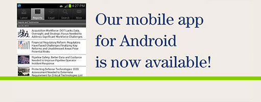 Mobile app for Android Banner
