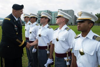 Odierno meets West Point Cadets