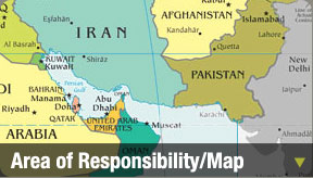 Area of Responsibility/Map