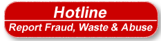 Hotline - Waste, Fraud and Abuse