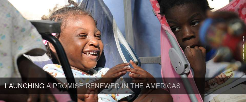 Launching A Promise Renewed in the Americas