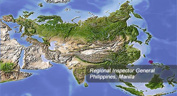 Asia Region Map