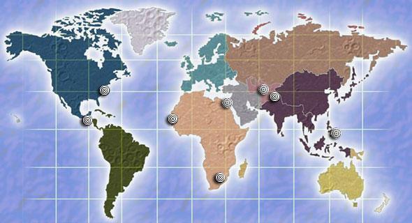OIG World Map
