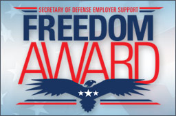 Employer Support Freedom Award - 2013